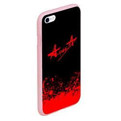 Чехол iPhone 6/6S Plus матовый АлисА на спине цвета 3D-баблгам — фото 2