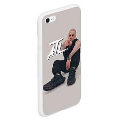 Чехол iPhone 6/6S Plus матовый ATL цвета 3D-белый — фото 2