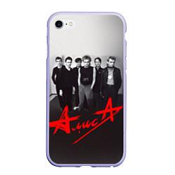 Чехол iPhone 6 Plus/6S Plus матовый АлисА: Трасса E95