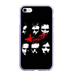 Чехол iPhone 6 Plus/6S Plus матовый Группа АлисА