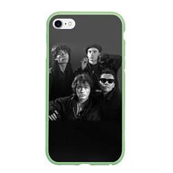 Чехол iPhone 6 Plus/6S Plus матовый Группа Кино