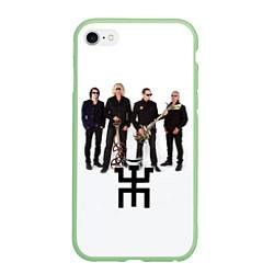 Чехол iPhone 6 Plus/6S Plus матовый Группа Пикник