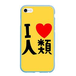 Чехол iPhone 6 Plus/6S Plus матовый No game no life Sora