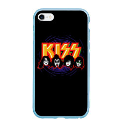 Чехол iPhone 6 Plus/6S Plus матовый KISS: Death Faces