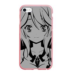 Чехол iPhone 6/6S Plus матовый No Game No Life цвета 3D-баблгам — фото 1
