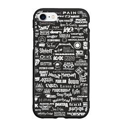Чехол для iPhone 7/8 матовый с принтом Rock Star, цвет: 3D-черный, артикул: 10150610705885 — фото 1