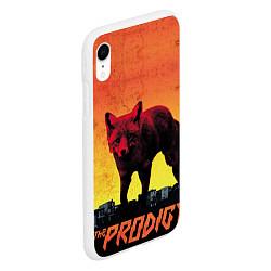 Чехол iPhone XR матовый The Prodigy: Red Fox цвета 3D-белый — фото 2