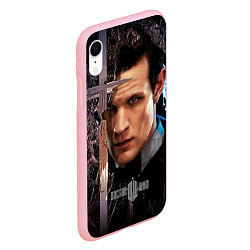 Чехол iPhone XR матовый Доктор кто цвета 3D-баблгам — фото 2