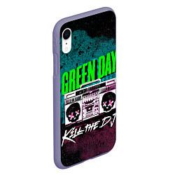 Чехол iPhone XR матовый Green Day: Kill the DJ цвета 3D-серый — фото 2