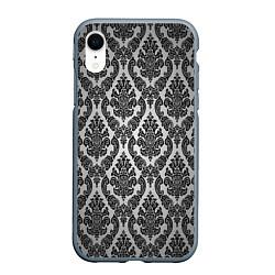 Чехол iPhone XR матовый Гламурный узор
