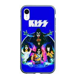 Чехол iPhone XR матовый Kiss Show