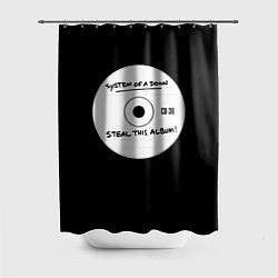 Шторка для душа SOAD: Steal this album цвета 3D — фото 1