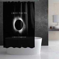 Шторка для душа Architects: Black Eclipse цвета 3D — фото 2