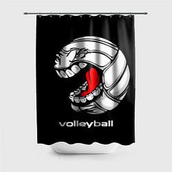 Шторка для душа Волейбол 25 цвета 3D-принт — фото 1