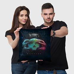Подушка квадратная In Flames: Battles цвета 3D — фото 2