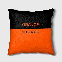 Подушка квадратная Orange Is the New Black цвета 3D — фото 1