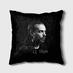 Подушка квадратная Detsl aka Le Truk цвета 3D-принт — фото 1