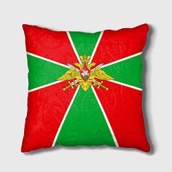 Подушка квадратная Флаг ПВ цвета 3D — фото 1
