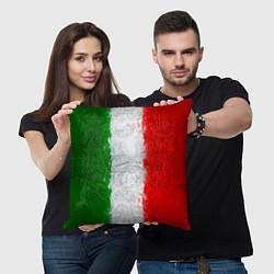 Подушка квадратная Italian цвета 3D-принт — фото 2
