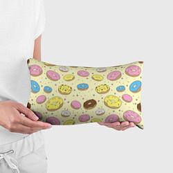 Подушка-антистресс Сладкие пончики цвета 3D — фото 2