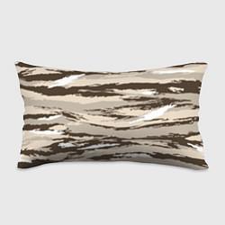 Подушка-антистресс Камуфляж: коричневый/кремовый цвета 3D — фото 1