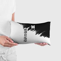 Подушка-антистресс BTS: White & Black цвета 3D — фото 2