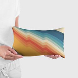 Подушка-антистресс Полосы цвета 3D — фото 2