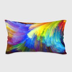 Подушка-антистресс Абстракция красок цвета 3D — фото 1