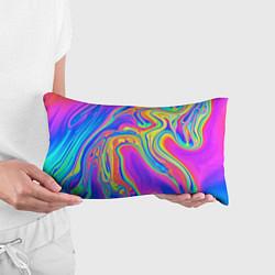 Подушка-антистресс Цветные разводы цвета 3D — фото 2