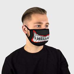 Маска для лица Зубы монстра цвета 3D-принт — фото 1