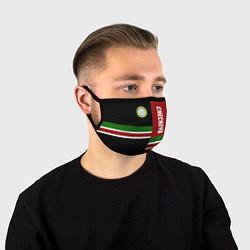 Маска для лица Chechnya, Russia цвета 3D-принт — фото 1
