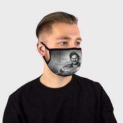 Маска для лица Пабло Эскобар цвета 3D-принт — фото 1