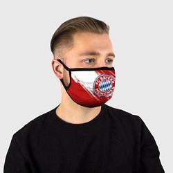 Маска для лица ФК Бавария цвета 3D — фото 1