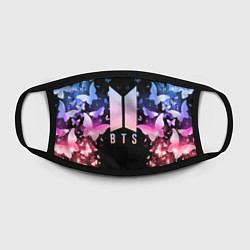Маска для лица BTS: Black Butterflies цвета 3D-принт — фото 2