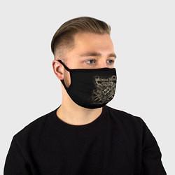 Маска для лица Machine Head цвета 3D-принт — фото 1