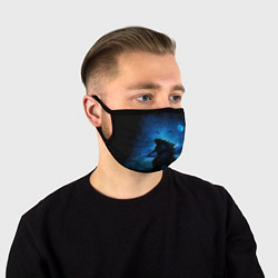 Маска для лица GODZILLA цвета 3D — фото 1