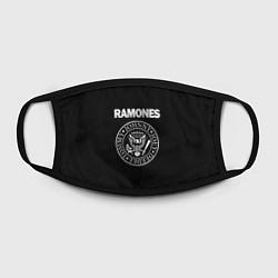 Маска для лица RAMONES цвета 3D — фото 2