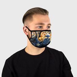 Маска для лица Van Gogh Tardis цвета 3D — фото 1