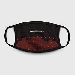 Маска для лица БМВ Performance - Соты Паттерн цвета 3D-принт — фото 2