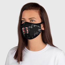 Неопреновая маска с клапаном с принтом Итачи, цвет: 3D-черный, артикул: 10266731105999 — фото 1