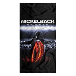 Бандана-труба Nickelback: Feed the Machine цвета 3D — фото 2