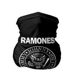 Бандана-труба RAMONES цвета 3D-принт — фото 1