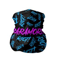 Бандана-труба Paramore RIOT! цвета 3D — фото 1