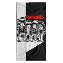 Бандана-труба Ramones Boys цвета 3D-принт — фото 2