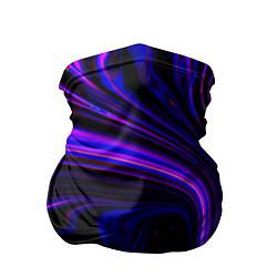 Бандана-труба Цветные разводы цвета 3D — фото 1