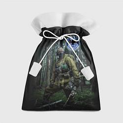 Мешок для подарков Военная разведка цвета 3D — фото 1