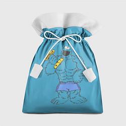 Мешок для подарков Коржик качок цвета 3D — фото 1