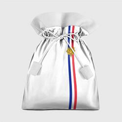 Мешок для подарков Франция: лента с гербом цвета 3D-принт — фото 1