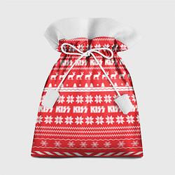 Мешок для подарков Kiss: NY Pattern цвета 3D — фото 1