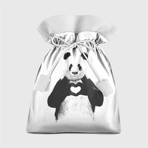 Подарочный мешок Panda Love / 3D – фото 1